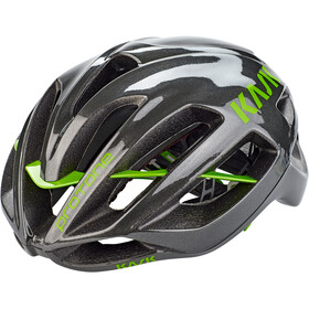 Kask Protone Casco, anthracite/green